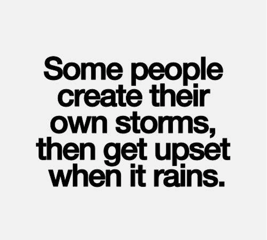 Emotional Storms…