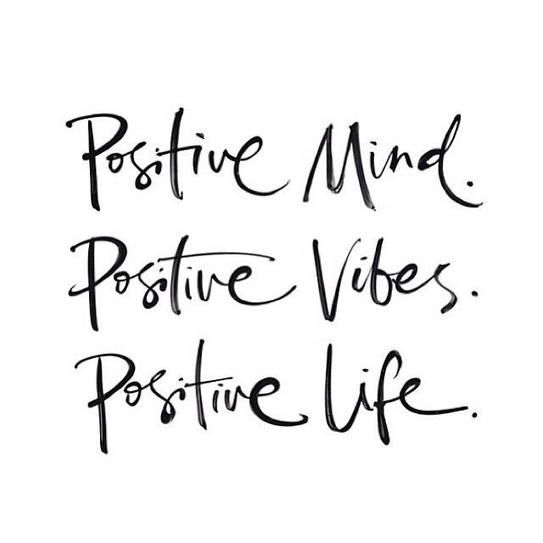 Positive Minds Lead Positive Lives