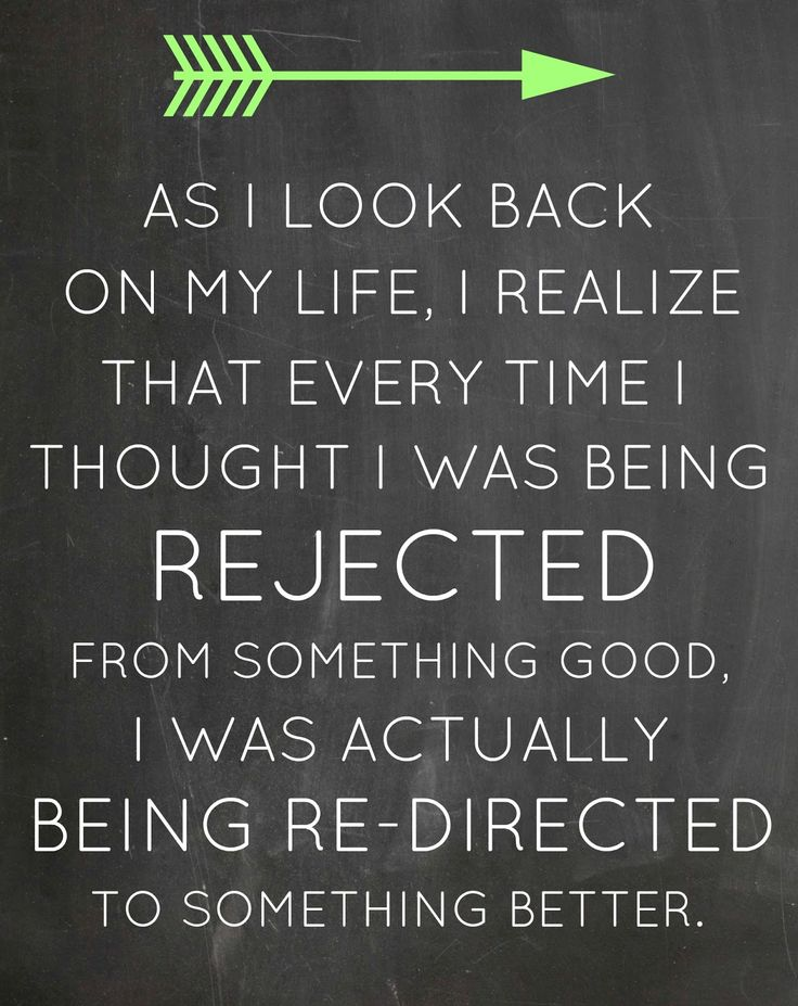 Rejected or Redirected?