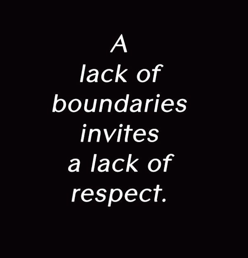 Why Personal Boundaries Are Important