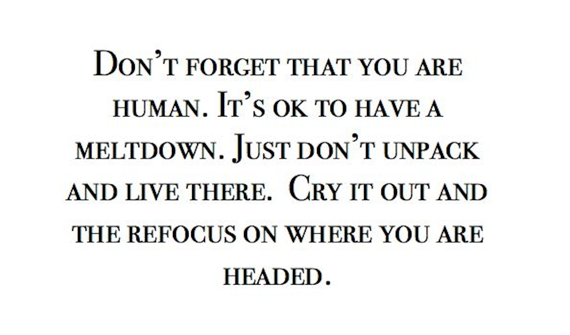 Refocus on Yourself