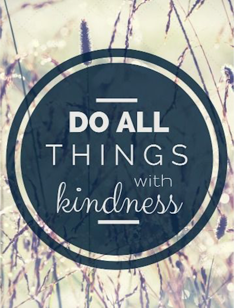 Acting with Kindness...