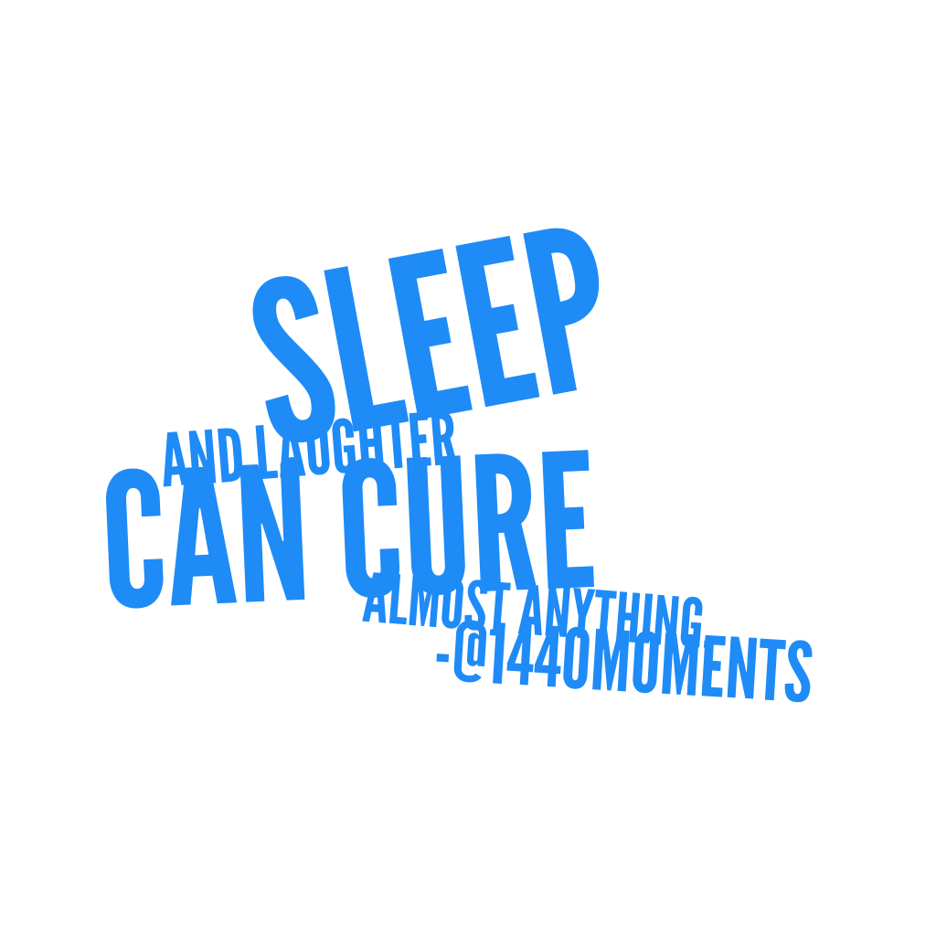The Sleep Cure…